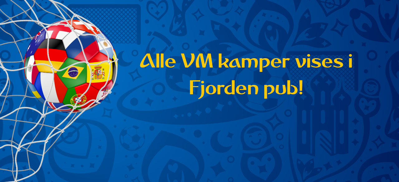 Fotball VM i Fjorden Pub Revsnes hotell